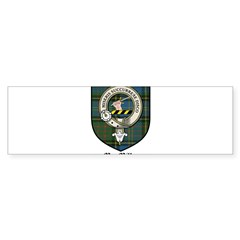 MacMillan Clan Crest Tartan Rectangle Sticker (Bumper 50 pk)