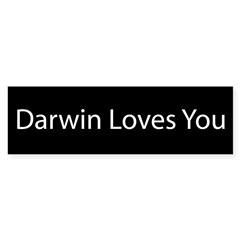 Darwin Loves You Sticker (Bumper 50 pk)