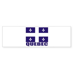 Quebec Sticker (Bumper 50 pk)