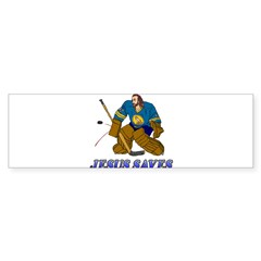 Jesus Saves (Hockey Goalie) Rectangle Sticker (Bumper 50 pk)