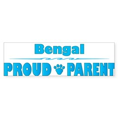 Bengal Parent Rectangle Sticker (Bumper 50 pk)