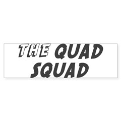 THE QUAD SQUAD Rectangle Sticker (Bumper 50 pk)