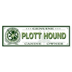 PLOTT HOUND Sticker (Bumper 50 pk)