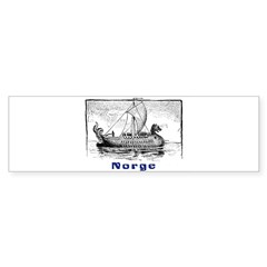 NORGE Rectangle Sticker (Bumper 50 pk)