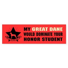 Great Dane Domination - Sticker (Bumper 50 pk)