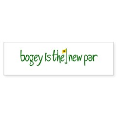 Bogey is the new Par Sticker (Bumper 50 pk)