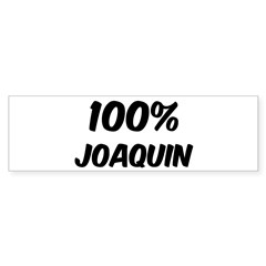 100 Percent Joaquin Sticker (Bumper 50 pk)