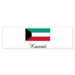 Kuwait Flag Rectangle Sticker (Bumper 50 pk)