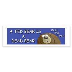 BEAR Sticker (Bumper 50 pk)