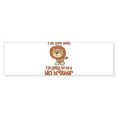 big brother t-shirts lion Rectangle Sticker (Bumper 50 pk)