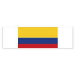Flag of Colombia Rectangle Sticker (Bumper 50 pk)