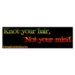 Not your mind Sticker (Bumper 50 pk)