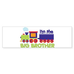 train big brother t-shirts Rectangle Sticker (Bumper 50 pk)