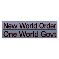 New World Order Truth Sticker (Bumper 50 pk)