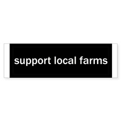 Support Local Farms Sticker (Bumper 50 pk)