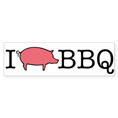 I Cook BBQ Sticker (Bumper 50 pk)