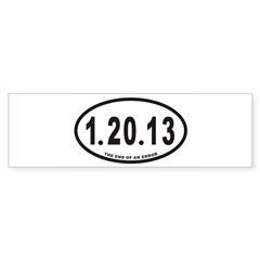 1.20.13 Euro Oval Sticker (Bumper 50 pk)