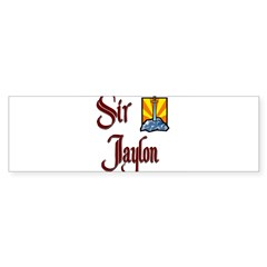 Sir Jaylon Rectangle Sticker (Bumper 50 pk)