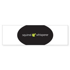 Squirrel Whisperer Sticker (Bumper 50 pk)