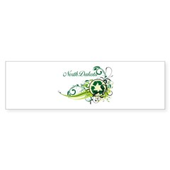 North Dakota Recycle T-Shirts and Gift Sticker (Bumper 50 pk)