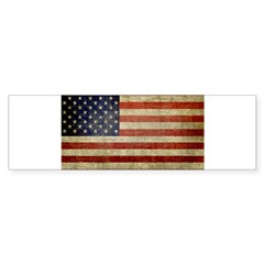Antique Flag Rectangle Sticker (Bumper 50 pk)
