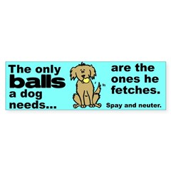 Neuter Support Sticker (Bumper 50 pk)