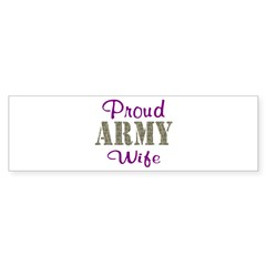 Army Purple Home/Office Sticker (Bumper 50 pk)