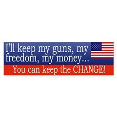 Keep the Change Sticker (Bumper 50 pk)