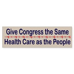 Give Congress Healthcare Sticker (Bumper 50 pk)