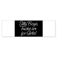 Silly Boys Rectangle Sticker (Bumper 50 pk)