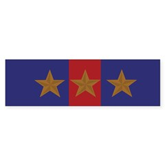 Marine Corps Recruiting 3 star (Bumper) Sticker (Bumper 50 pk)