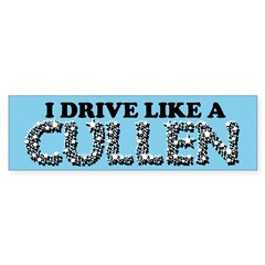 drive like a cullen remix Sticker (Bumper 50 pk)