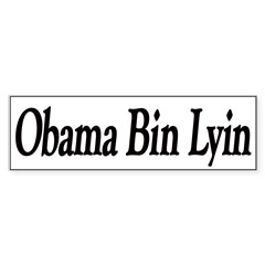 Obama Bin Lyin Sticker (Bumper 50 pk)