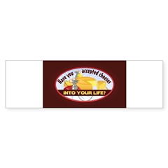 Accept Cheese Sticker (Bumper 50 pk)
