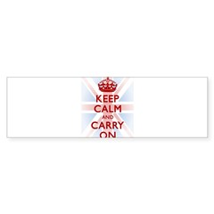 Keep Calm and Carry On Sticker (Bumper 50 pk)
