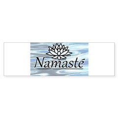 Namaste Lotus Ripple Sticker (Bumper 50 pk)
