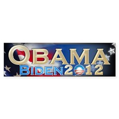 Obama Biden - Sticker (Bumper 50 pk)