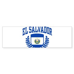 El Salvador Sticker (Bumper 50 pk)