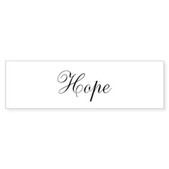Hope Sticker (Bumper 50 pk)