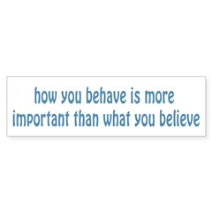 Behave / Believe Sticker (Bumper 50 pk)