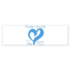 Stop Prostate Cancer Sticker (Bumper 50 pk)