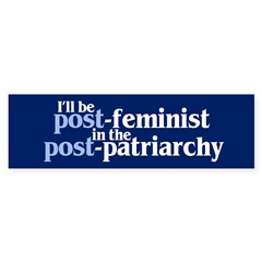 POST-FEMINIST Sticker (Bumper 50 pk)