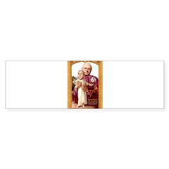 Saint Cheney Sticker for Votive Candle Sticker (Bumper 50 pk)