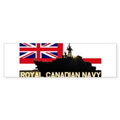 Royal Canadian Navy Rectangle Sticker (Bumper 50 pk)