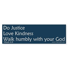 Bumper Sticker - Micah 6:8 Sticker (Bumper 50 pk)