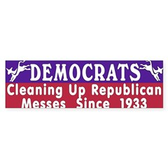 Democrats Sticker (Bumper 50 pk)