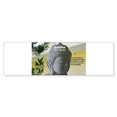 Eastern Philosophy: Buddha Rectangle Sticker (Bumper 50 pk)