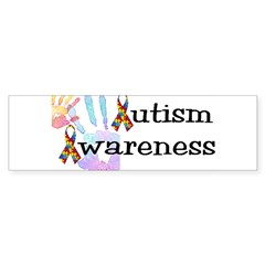 Autism Awareness Rectangle Sticker (Bumper 50 pk)