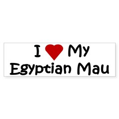 Egyptian Mau Sticker (Bumper 50 pk)