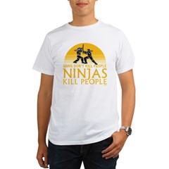 ninja4a-black Organic Men's T-Shirt
